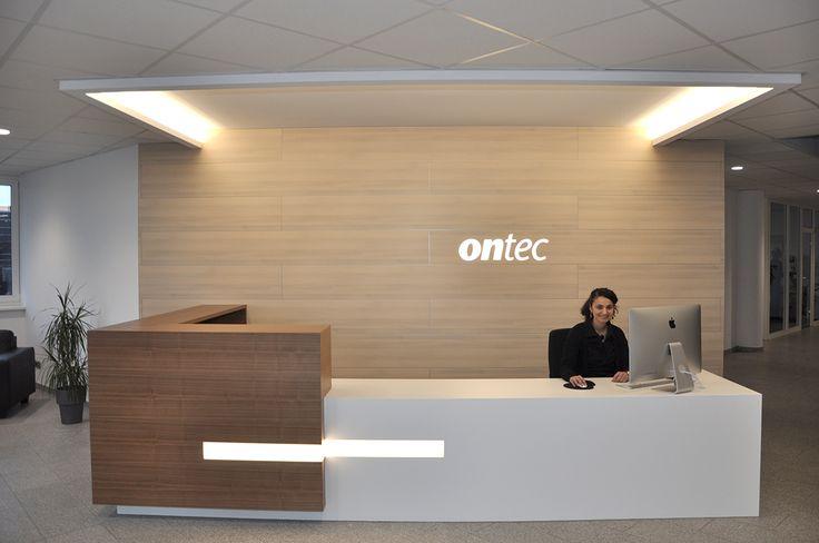 Neuer Empfangsbereich Bei Ontec Hier Werden Sie Auch In Zukunft Herzlich Willkommen Geheisen Ganz Besonders