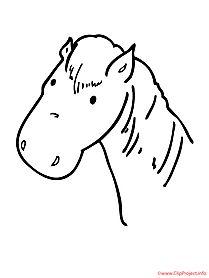 pferde malvorlagen kostenlos zum ausdrucken   malvorlagen