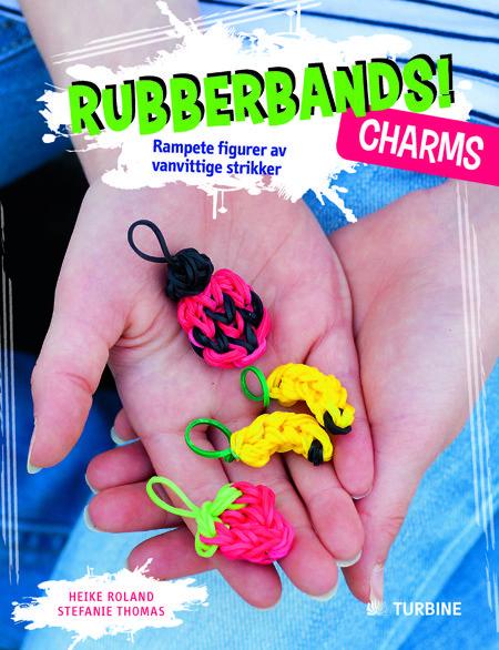 Rubberbands! Charms. Rampete figurer av vanvittige strikker
