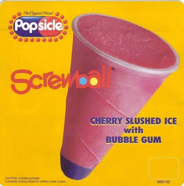 Screwball | The Definitive Ranking Of Classic Ice Cream Truck Treats