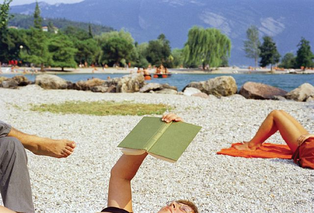 Martin Parr.  Italy. Lake Garda. Riva del Garda.  1999.  from Life's a Beach -- Aperture. by drollgirl, via Flickr