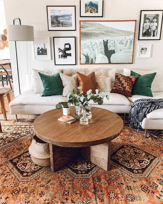 Nature Themed Living Room In 2020 Bohemian Living Room Decor Home Living Room Farm House Living Room #outdoors #themed #living #room