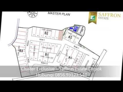 0856 93123 544 Rumah Cluster Exclusive Bata Merah - Saffron Estate Depok