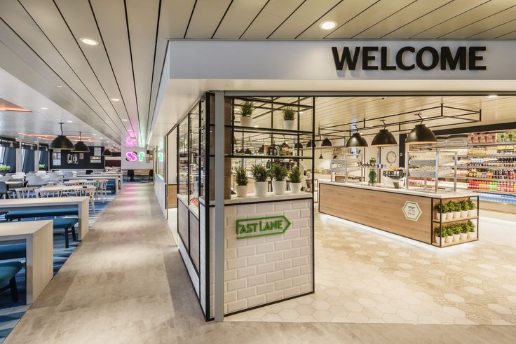 Restaurant design at Tallink Megastar ferry