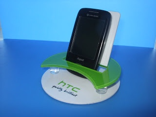 htc cell phone display stand