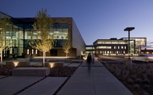 Northern Arizona University's Health and Learning Center. Image © Bill Timmerman