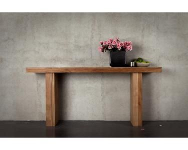 Ethnicraft© - Products » Occasional Tables »Teak Double console table $895 Click on furniture
