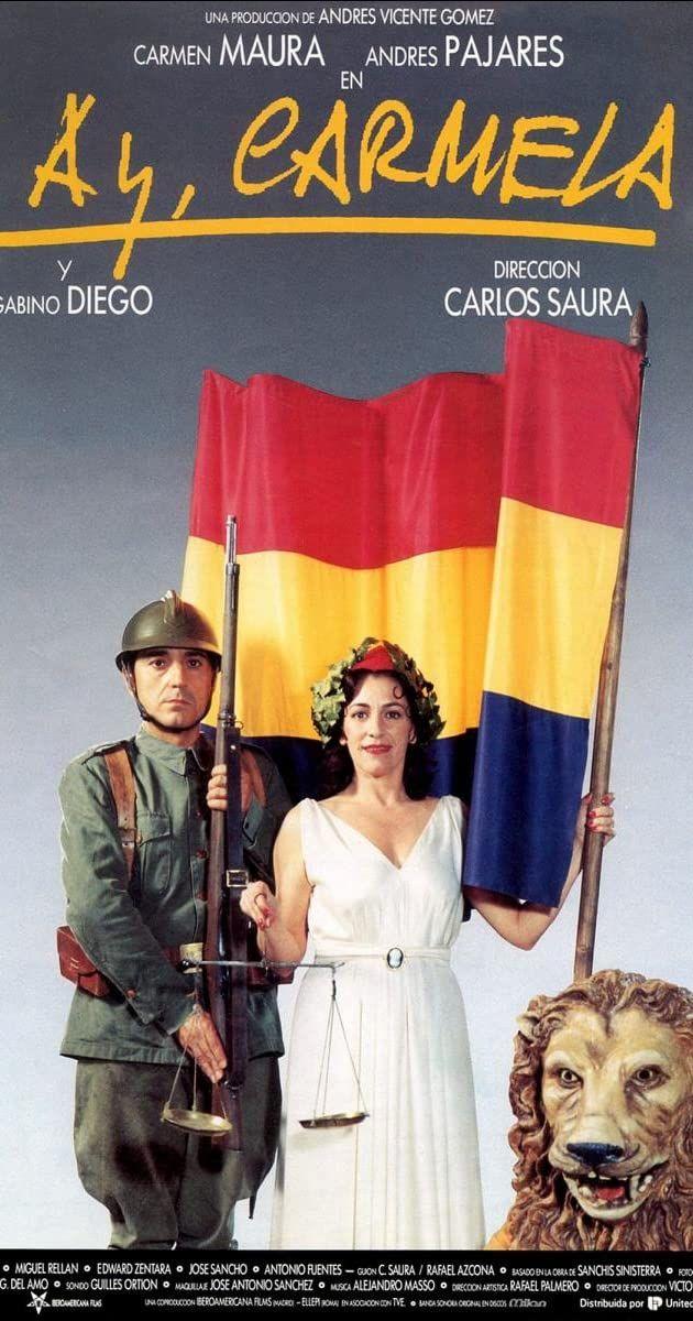 Directed By Carlos Saura With Carmen Maura Andres Pajares Gabino Diego Armando De Razza During The Spanish Civil War A Group O Spanish Movies Film Cinema