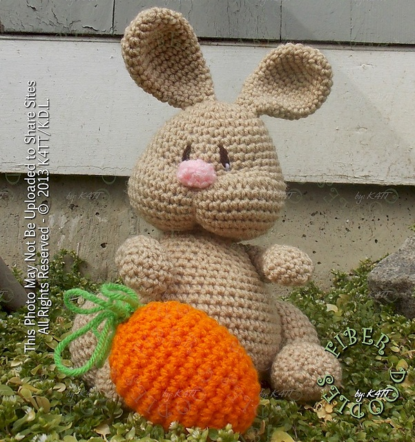 Ravelry: 100 - Rae the Pudgy Rabbit pattern by K4TT
