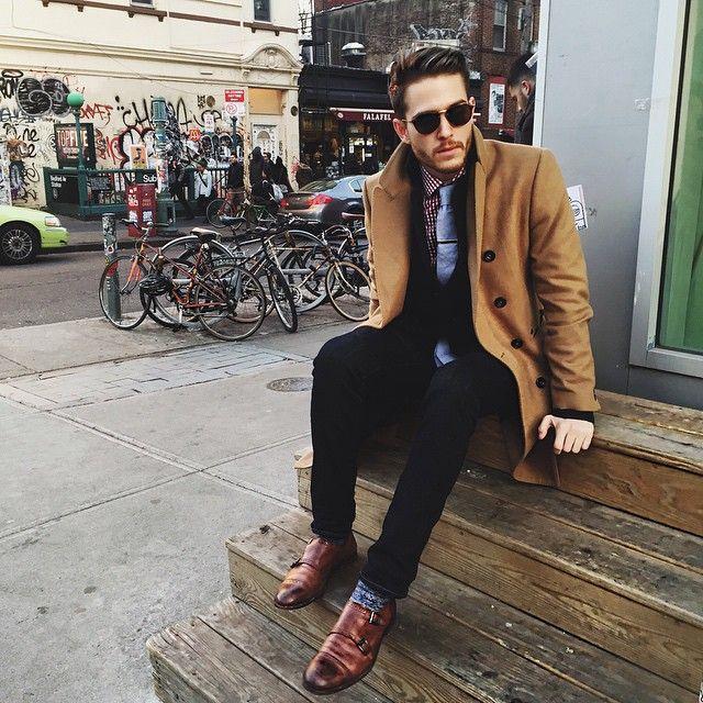 Zara coat | J.Crew trousers | Johnston & Murphy shoes | iamgalla.com