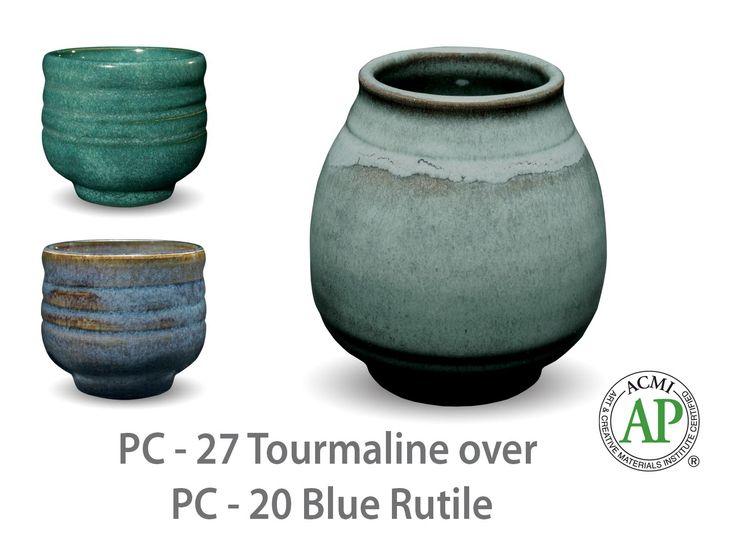 Amaco Potter S Choice Layered Glazes Pc 20 Blue Rutile And