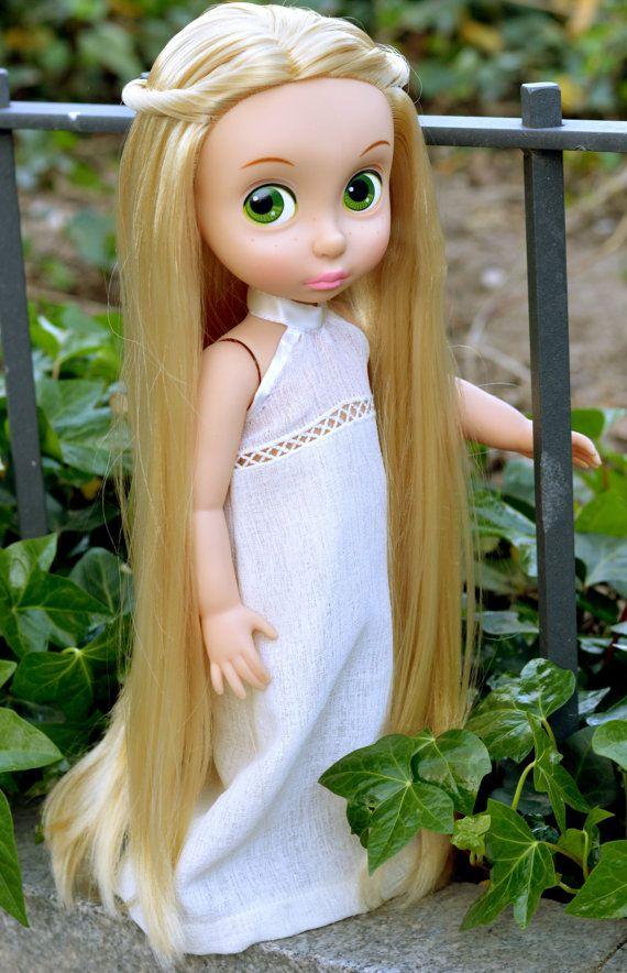 Ibiza Dress for Disney Animator Doll Outfit por LittleBigBoutique