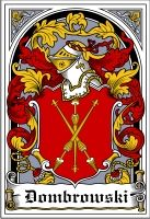 Dombrowski Coat of Arms / polish family crest #heraldry #genealogy #family reunion #family #shield #clan #Poland #polska #code of arms
