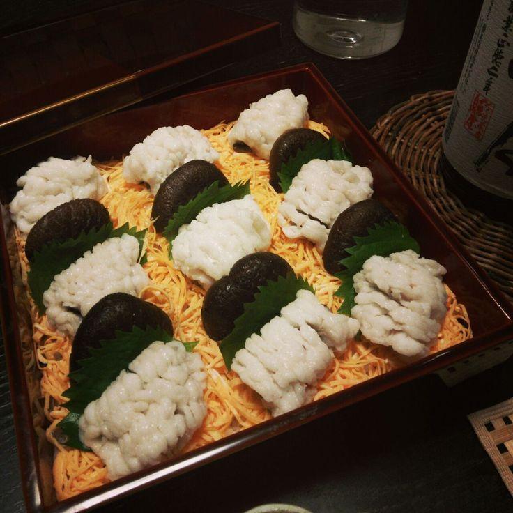 鱧のちらし寿司
