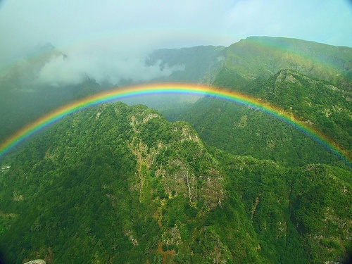 Rainbow at Balcões (Photo by Alan)