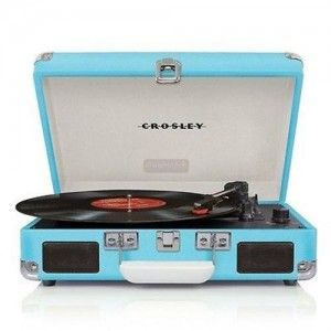 #VINTAGE PORTABLE #TURNTABLE The #best portable record player under 100 dollars. Great Christmas gift ideas for 100 dollars. #Cool gift ideas.