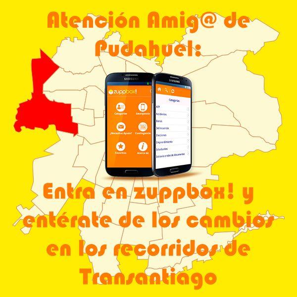 Transantiago: modificación de recorridos en Pudahuel