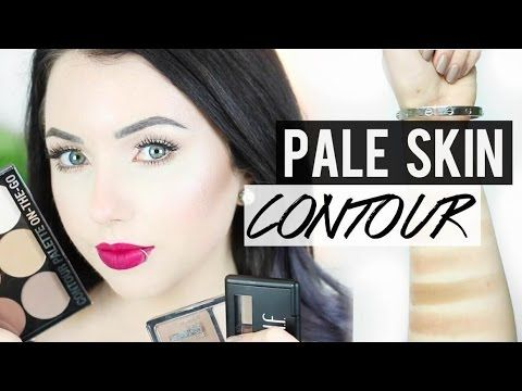 BEST CONTOUR PRODUCTS FOR PALE SKIN. I finally know how to contour my fair skin! #thataylaa #paleprincess #contour