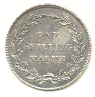 In 1750, one shilling = 12 pennies.