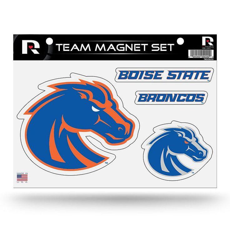 Boise State Broncos Team Magnet Set, Multicolor