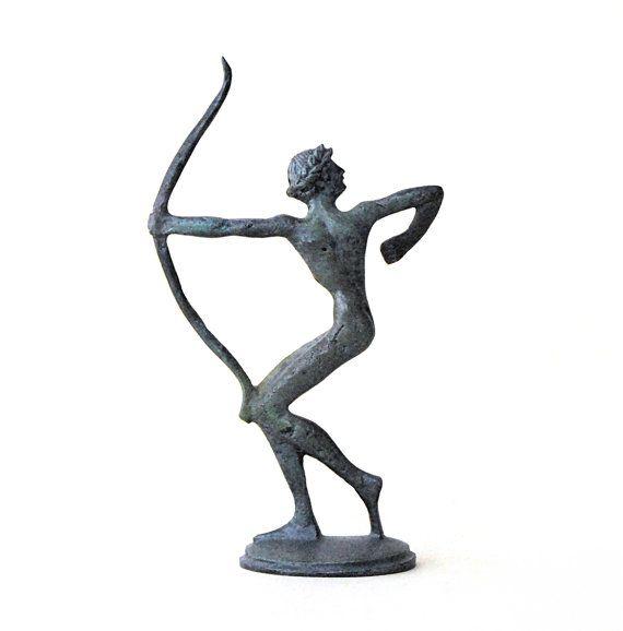 Archer Bronze Statue Ancient Greek Athlete Ancient by GreekMythos