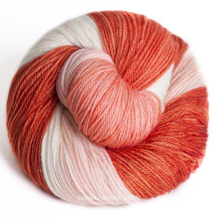Expression Fiber Arts - MARMALADE 3-PLY SUPERWASH MERINO WOOL SOCK, $24.00 (http://www.expressionfiberarts.com/products/marmalade-3-ply-superwash-merino-wool-sock.html)
