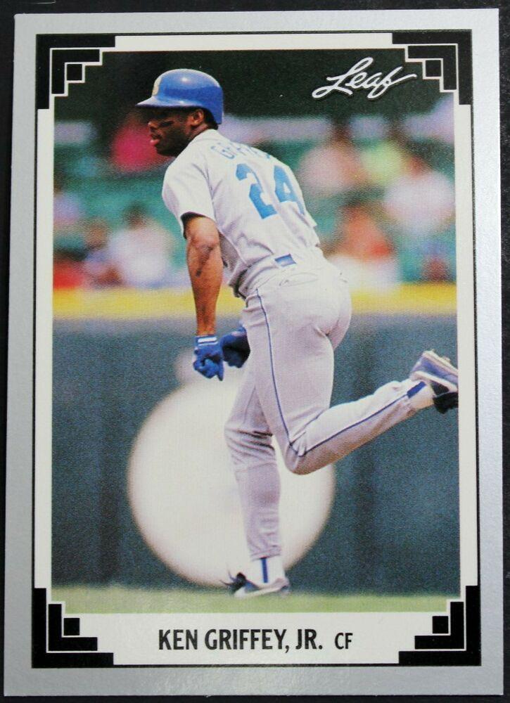 best website f40c1 e9f2a 1991 Leaf Set Series 2 Card 372 Ken Griffey Jr. Baseball ...
