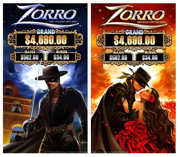 Zorro The Legend Returns Amp The Mask And The Rose Casino