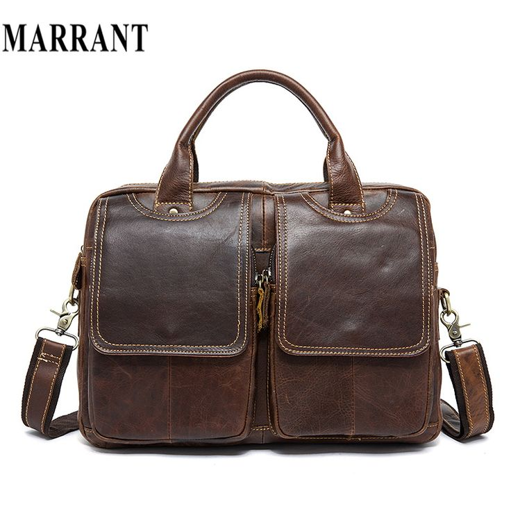 MARRANT Genuine Leather Men Bag Men Messenger Shoulder Bags Men's Crossbody Bag Men's Briefcase Leather Laptop Bags 14'' Handbag #clothing,#shoes,#jewelry,#women,#men,#hats,#watches,#belts,#fashion,#style