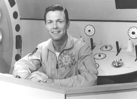 On weekday mornings, from 1959 to 1968, Cadet Don entertained Houston youths from a Buck Rogers-style spaceship and rocket control room. Joining him in the fun on KTRK (Channel 13) was his friend Seymour, from the planet Katark.