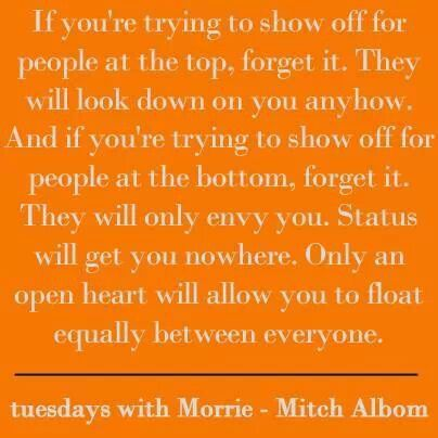 tuesdays with morrie meaning of life essay Read this essay on tuesdays with morrie essay come browse our large digital warehouse of free sample essays get the knowledge you need in order we can say that morrie is living his last phase of life with integrity he teaches the lessons of life, perhaps from his own life experience but there.