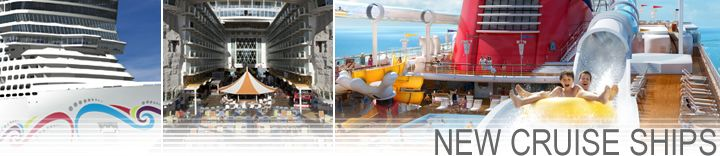 New Cruise Ships are coming.  Be one of the first to experience ships like the Disney Fantasy and Norwegian Breakaway!