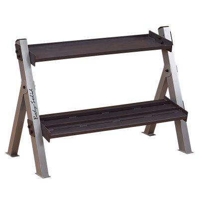 Body-Solid Dumbbell/Kettlebell Rack - GDKR100