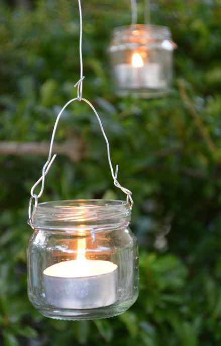 Candele matrimonio: illuminazione giardino
