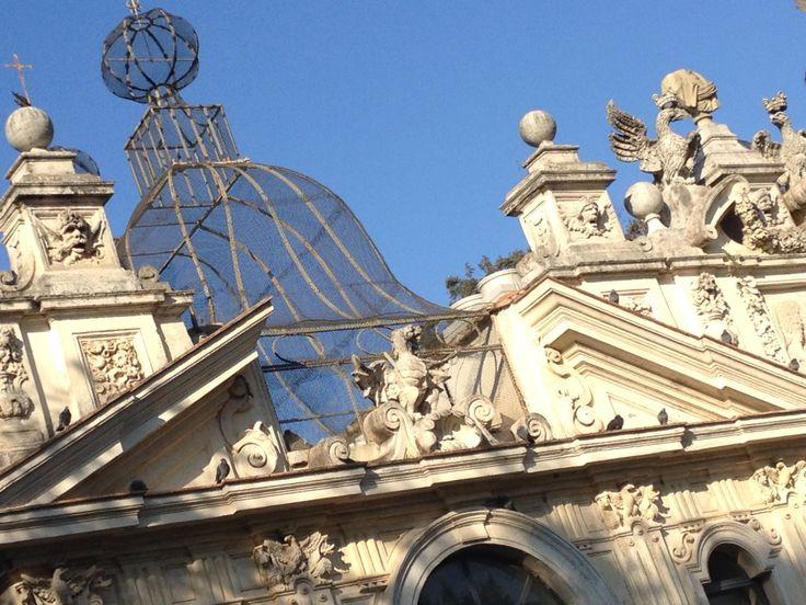 Borghese Gallery Aviary (a bird house)