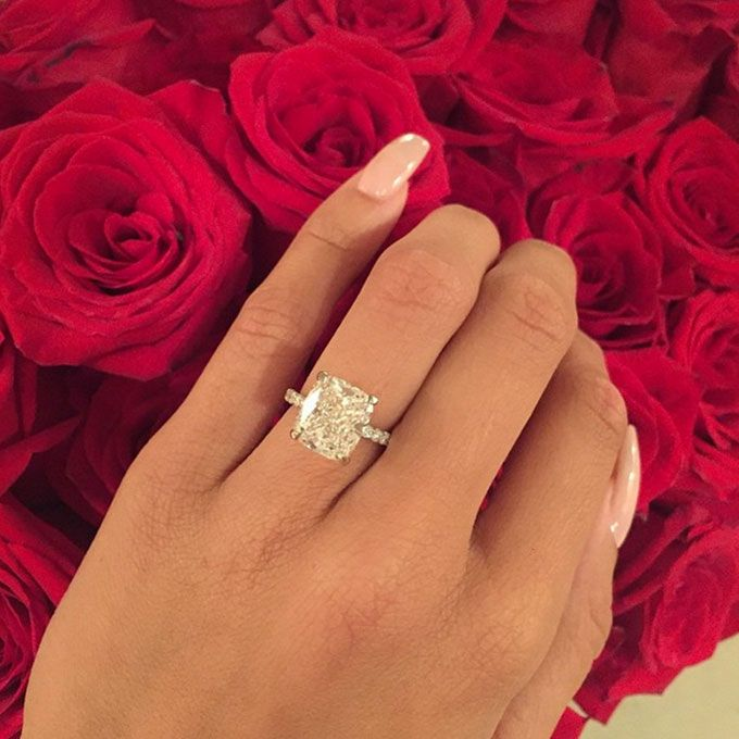 Brides.com: Our Favorite Celebrity Engagement Rings Hannah Davis