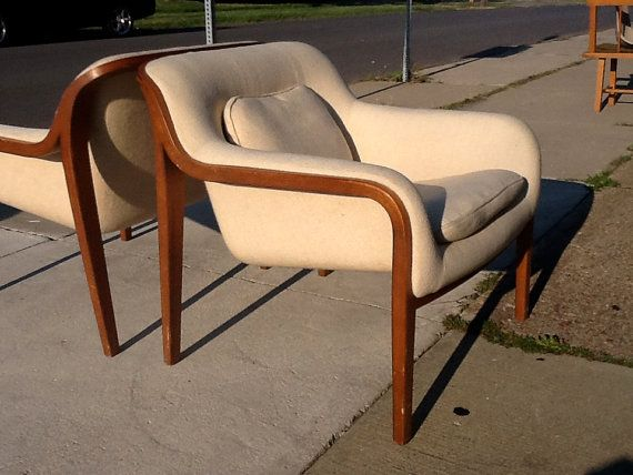 Knoll Bentwood Lounge Chair By BILL Stephens On Etsy