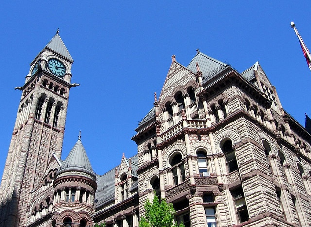 45 best tower clock old city hall toronto images on for Main architectural styles