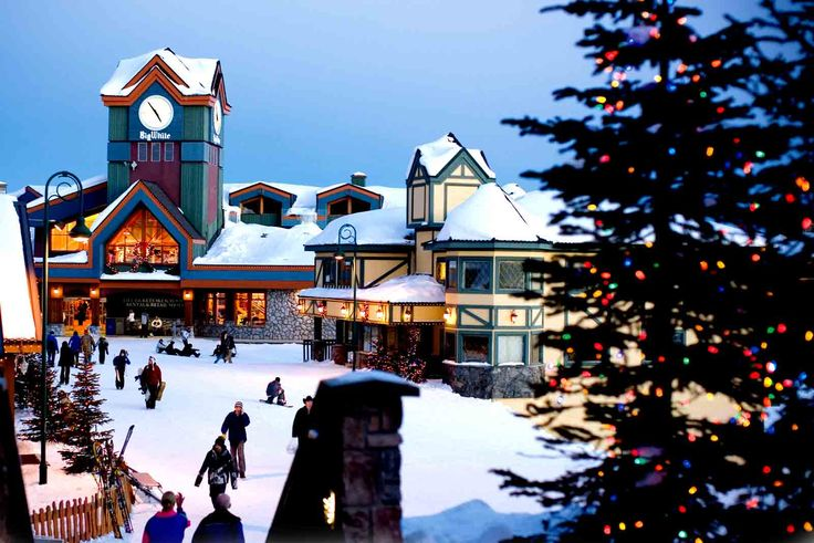 Big White, Canada. Ski Resort