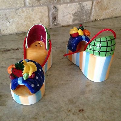 Carmen Platform Shoes Salt & Pepper Shakers by Vandor. ❣Julianne McPeters❣ no pin limits