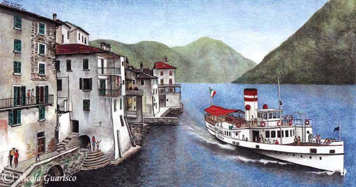 Nicola Guarisco, Lago di Como