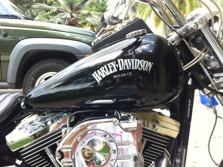 Black Chrome Gas Tank Emblems For Harley Take A Look At My Tank - Stickers for motorcycles harley davidsons