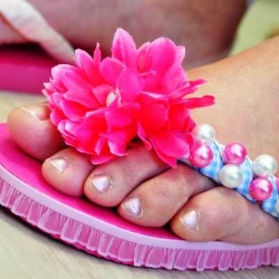Workshop slippers pimpen | een leuke workshop of vrijgezellenfeest