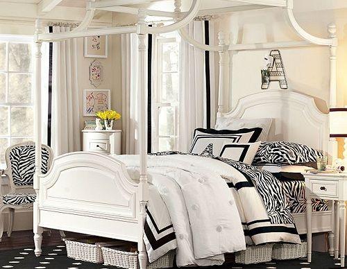 Zebra Bedroom for Girls | SocialCafe Magazine