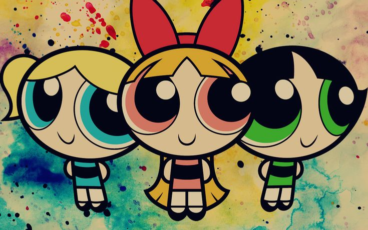 Bubbles, Blossom and Buttercup