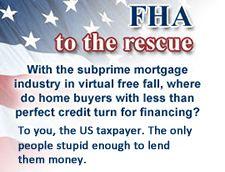 FHA financing and loan assumption - http://housingmarketforecast.us/fha-financing-and-loan-assumption/