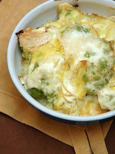 Une idée de recette de chou au fromage, pour une soirée d'hiver !
