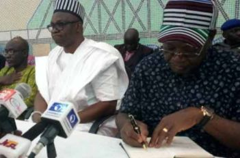 Benuestate governorSamuel Ortom yesterday said that he will defect fromAPCtoPDPor any other political party if his people so wish. Ortom said this yesterday when he receivedEkitistate governor Ayo Fayose who paid him a condolence visit over the killing of 78 persons by suspected herdsmen in January. Governor Fayose in his speech called on Governor Ortom to leave APC and move over to PDP where he will be well catered for. He accused the Buhari-led government and the APC of neglecting one of…