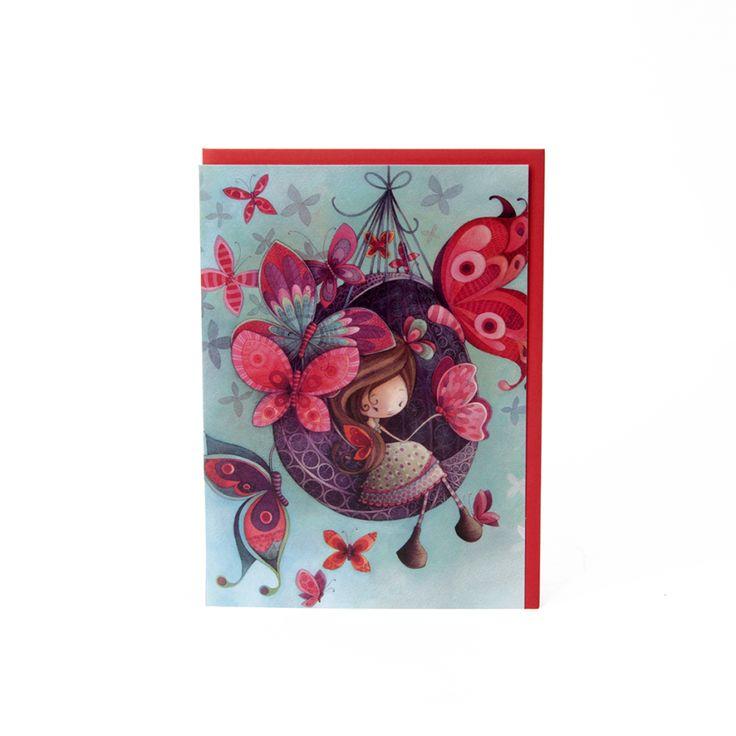 Pour célébrer en couleur! // Carte Fannie KETTO Card Fannie // Sans inscription. // Blank. // #Carte #Card #Ketto