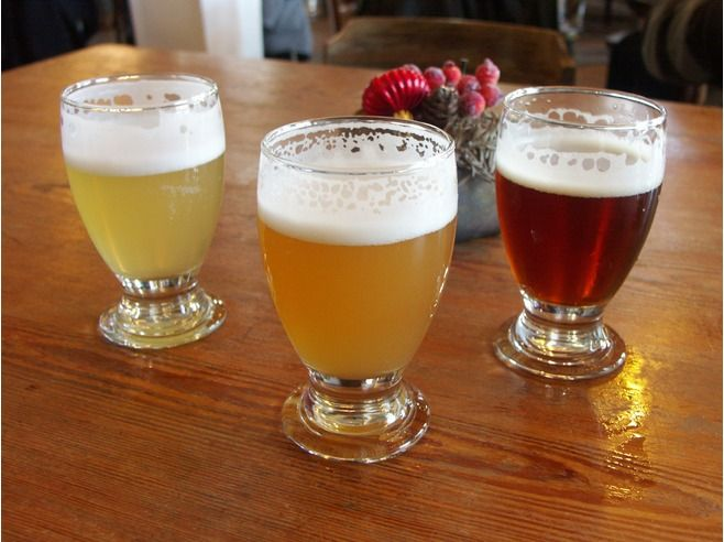"""Gruut Gentse Stadsbrouwerij - """"They use a mix of spices (gruut) instead of hop for the production of the 5 different beers, which come as white, blonde, amber, brown and inferno. """""""